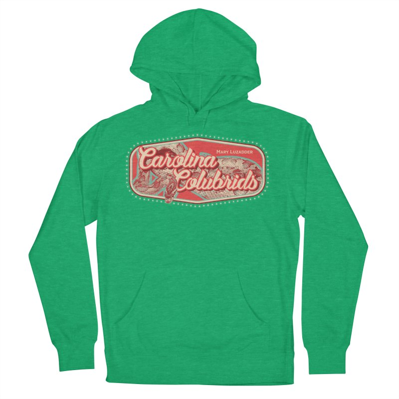 Carolina Colubrids Men's French Terry Pullover Hoody by Drawn to Scales