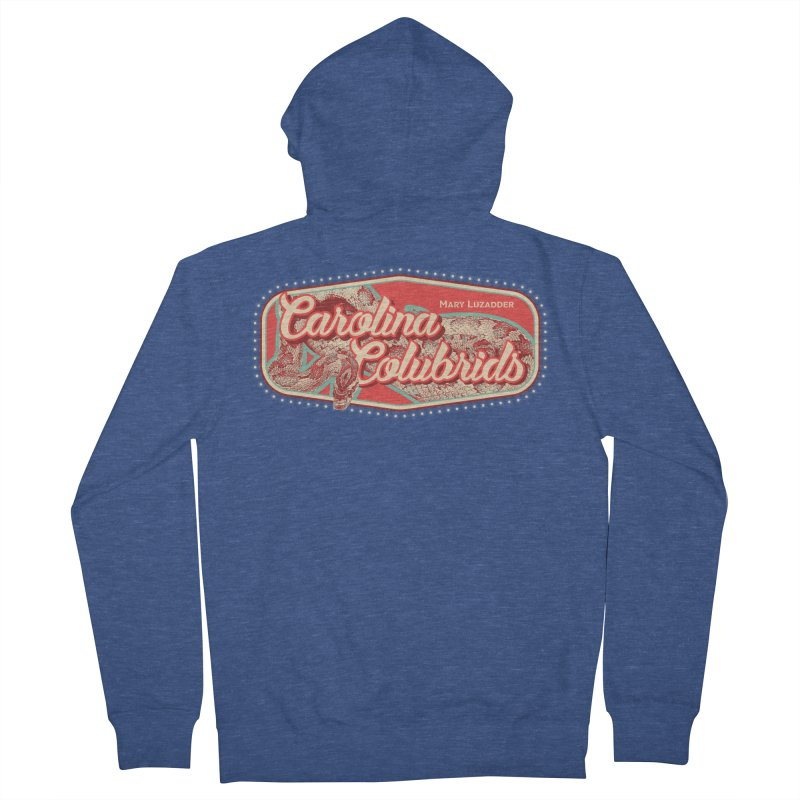 Carolina Colubrids Women's French Terry Zip-Up Hoody by Drawn to Scales