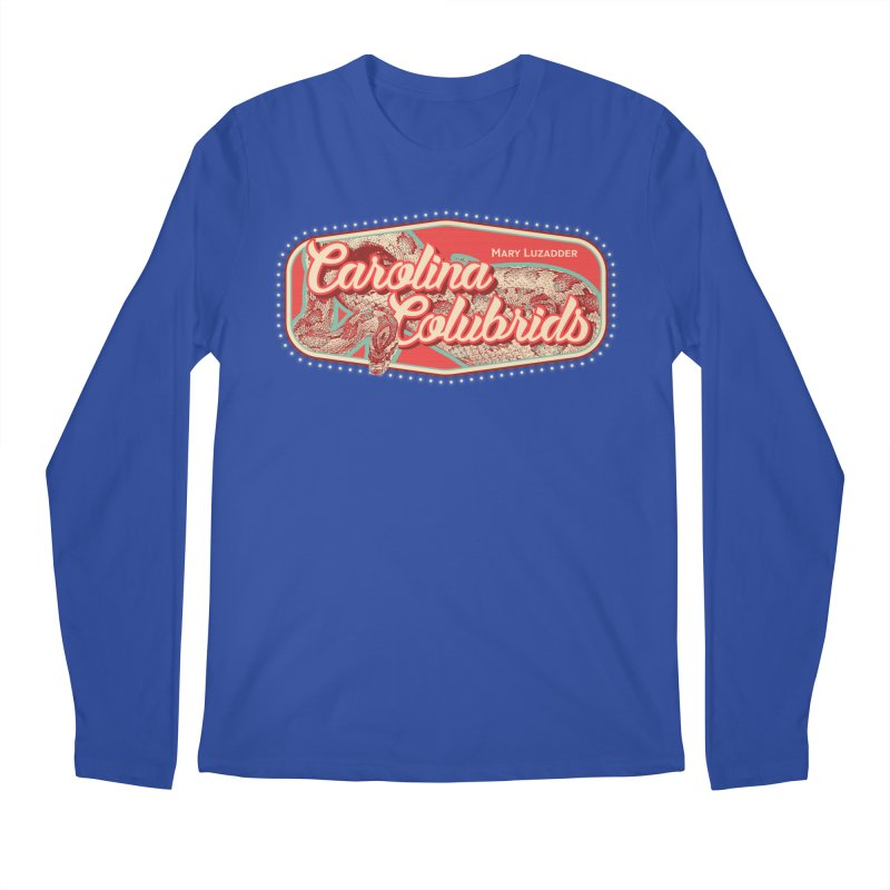 Carolina Colubrids Men's Regular Longsleeve T-Shirt by Drawn to Scales
