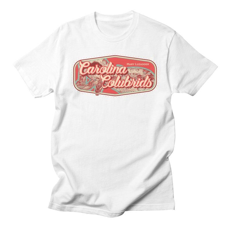 Carolina Colubrids Men's Regular T-Shirt by Drawn to Scales