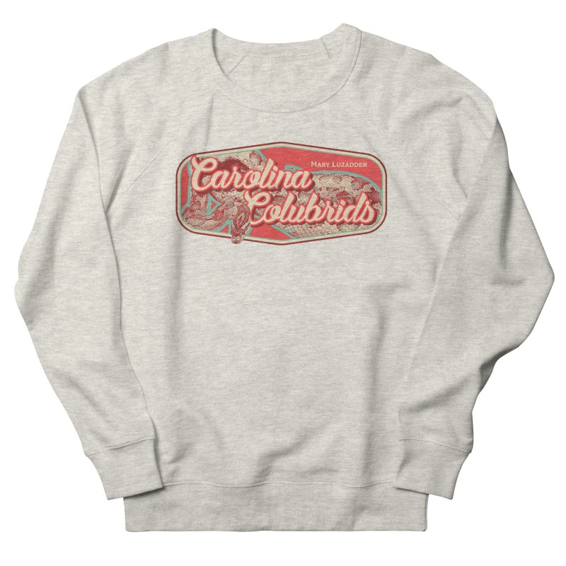 Carolina Colubrids Men's French Terry Sweatshirt by Drawn to Scales