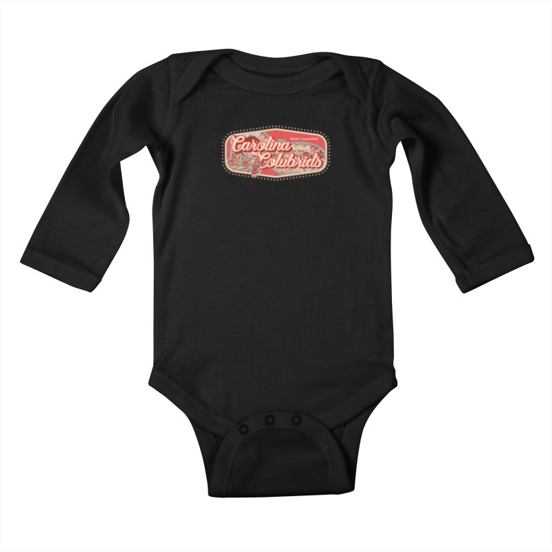 Carolina Colubrids Kids Baby Longsleeve Bodysuit by Drawn to Scales