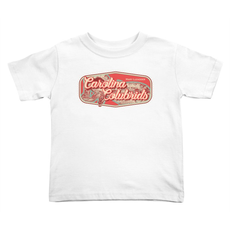 Carolina Colubrids Kids Toddler T-Shirt by Drawn to Scales