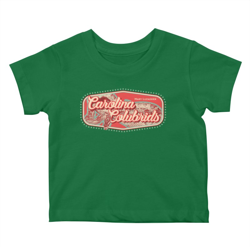 Carolina Colubrids Kids Baby T-Shirt by Drawn to Scales