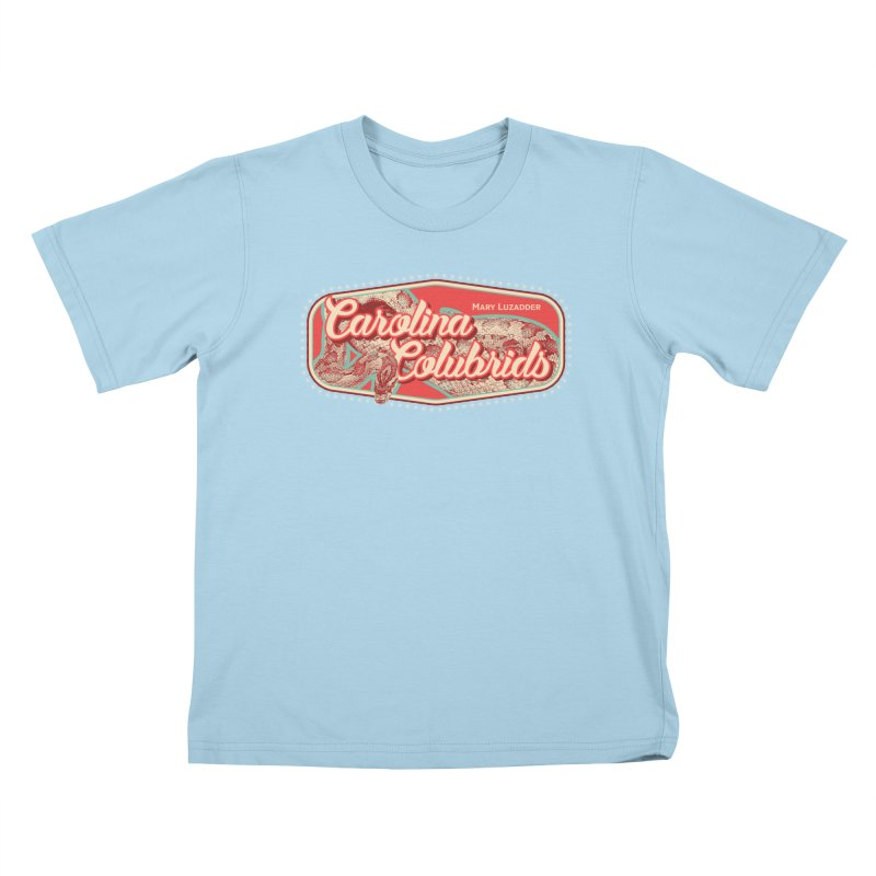 Carolina Colubrids Kids T-Shirt by Drawn to Scales