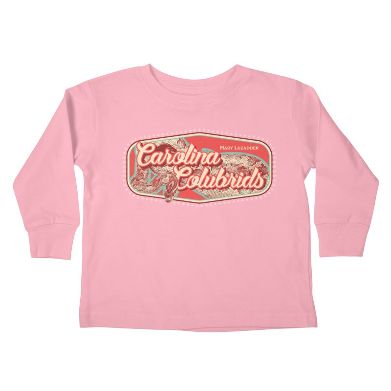 Carolina Colubrids Kids Toddler Longsleeve T-Shirt by Drawn to Scales