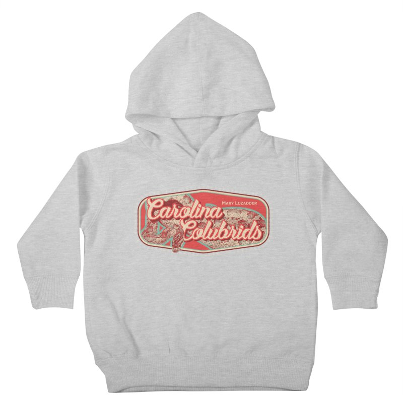 Carolina Colubrids Kids Toddler Pullover Hoody by Drawn to Scales