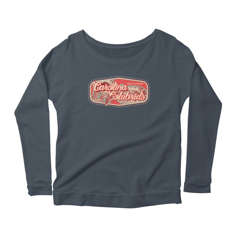 Carolina Colubrids Women's Scoop Neck Longsleeve T-Shirt by Drawn to Scales