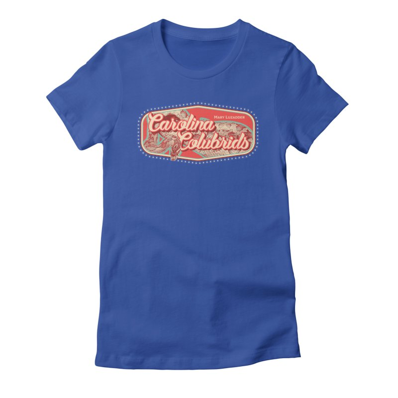 Carolina Colubrids Women's Fitted T-Shirt by Drawn to Scales