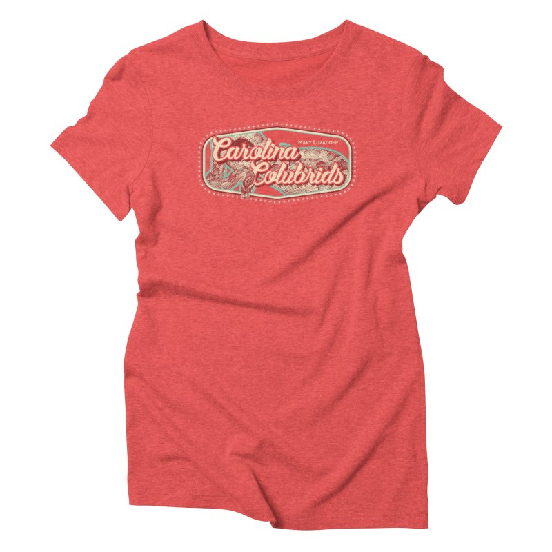 Carolina Colubrids Women's Triblend T-Shirt by Drawn to Scales