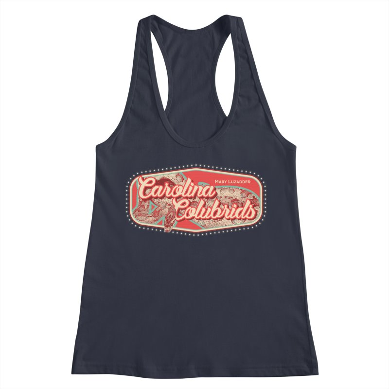 Carolina Colubrids Women's Racerback Tank by Drawn to Scales
