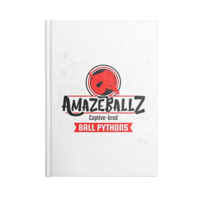 AmazeBallz Accessories Lined Journal Notebook by Drawn to Scales