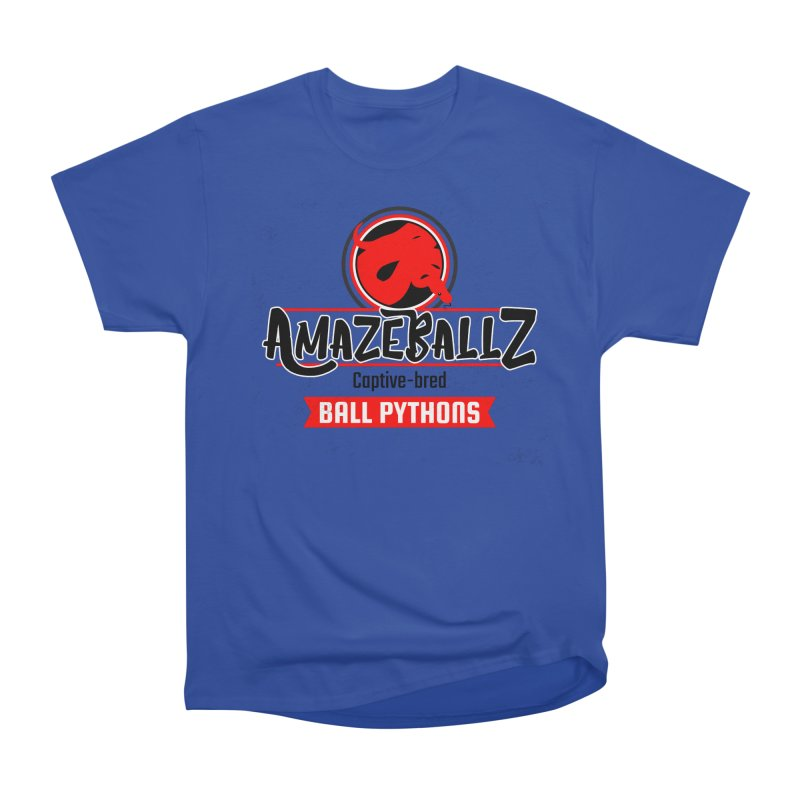 AmazeBallz Men's Heavyweight T-Shirt by Drawn to Scales