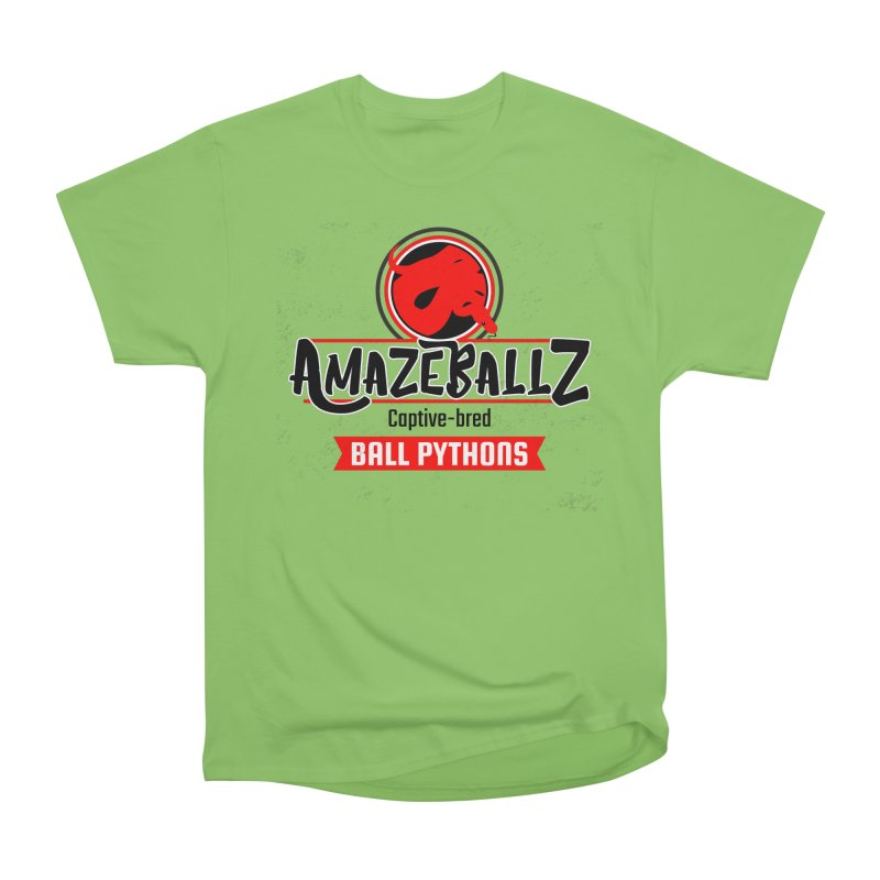 AmazeBallz Women's Heavyweight Unisex T-Shirt by Drawn to Scales