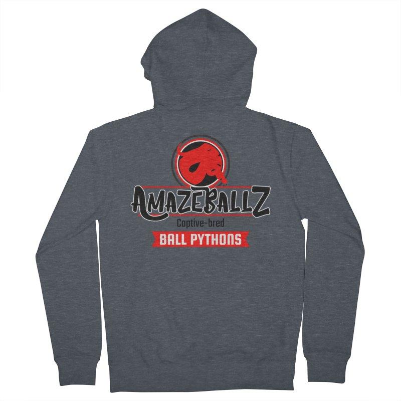 AmazeBallz Women's French Terry Zip-Up Hoody by Drawn to Scales