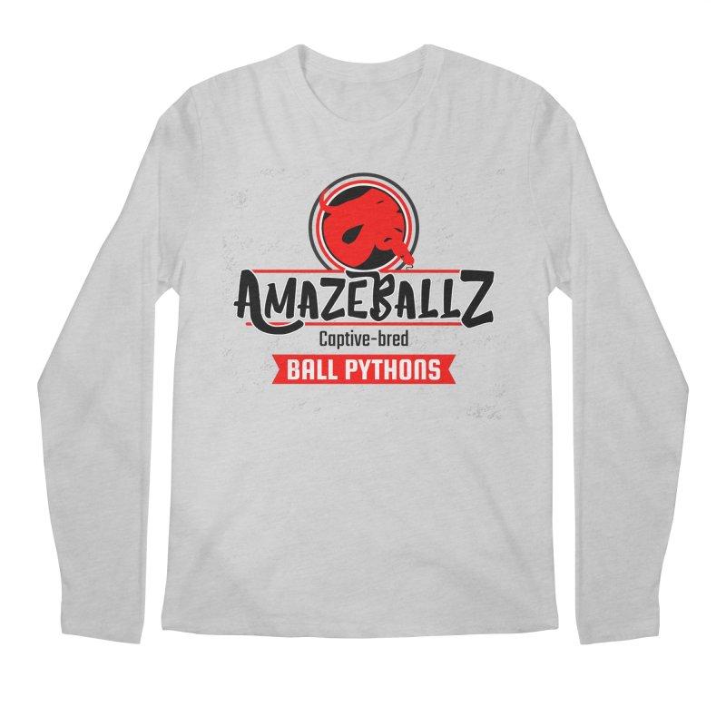 AmazeBallz Men's Regular Longsleeve T-Shirt by Drawn to Scales