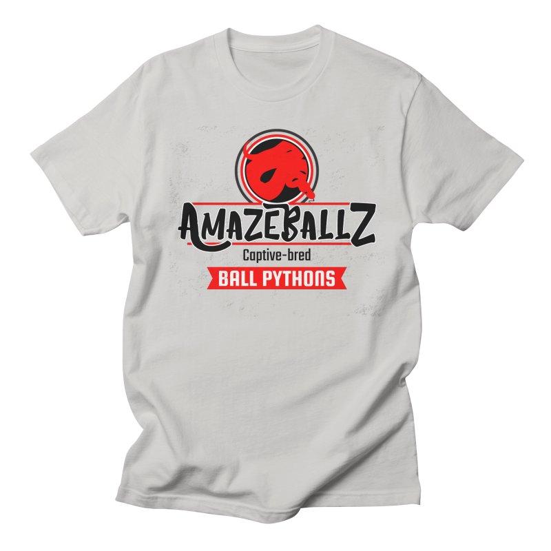 AmazeBallz Men's Regular T-Shirt by Drawn to Scales