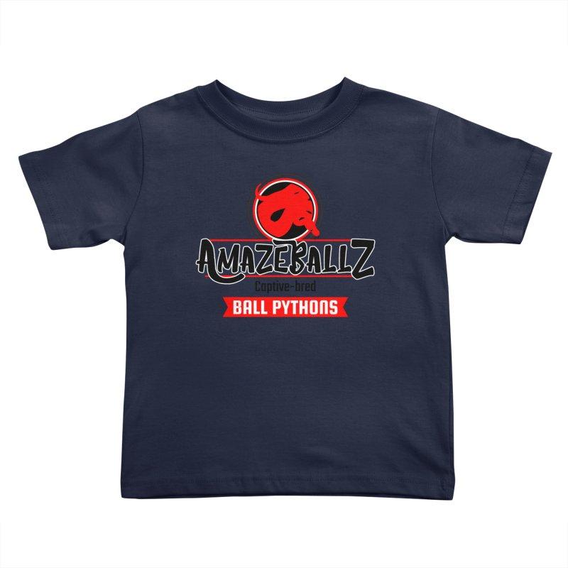 AmazeBallz Kids Toddler T-Shirt by Drawn to Scales