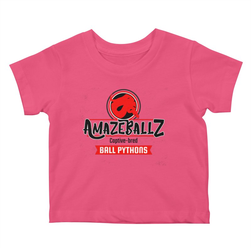 AmazeBallz Kids Baby T-Shirt by Drawn to Scales
