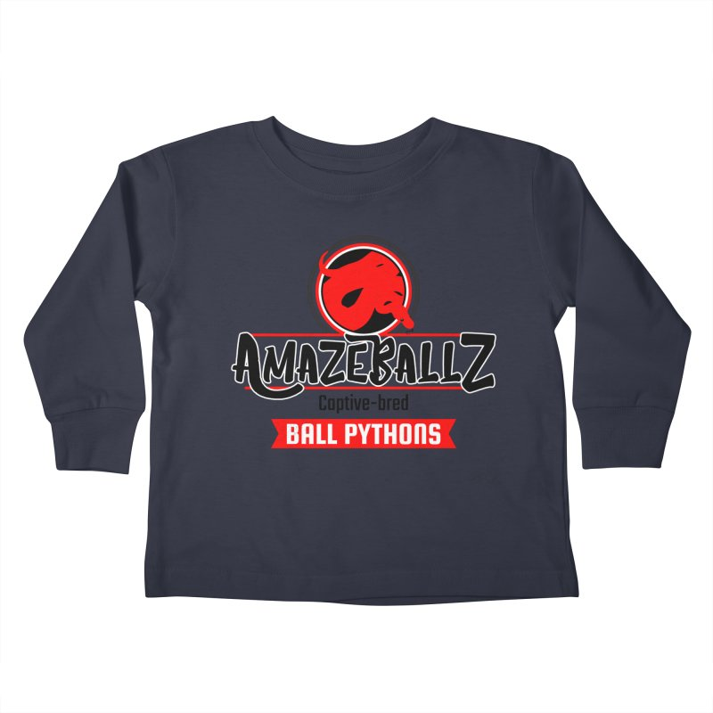 AmazeBallz Kids Toddler Longsleeve T-Shirt by Drawn to Scales