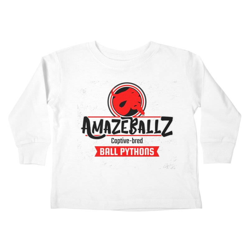 AmazeBallz Kids Toddler Longsleeve T-Shirt by Drawn to Scales