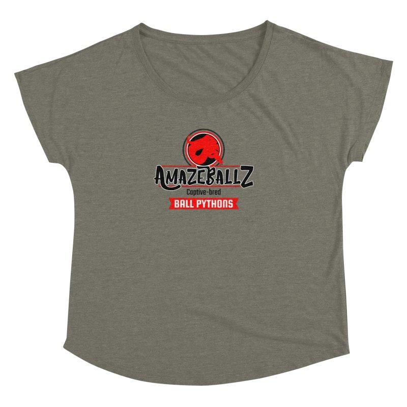 AmazeBallz Women's Dolman Scoop Neck by Drawn to Scales