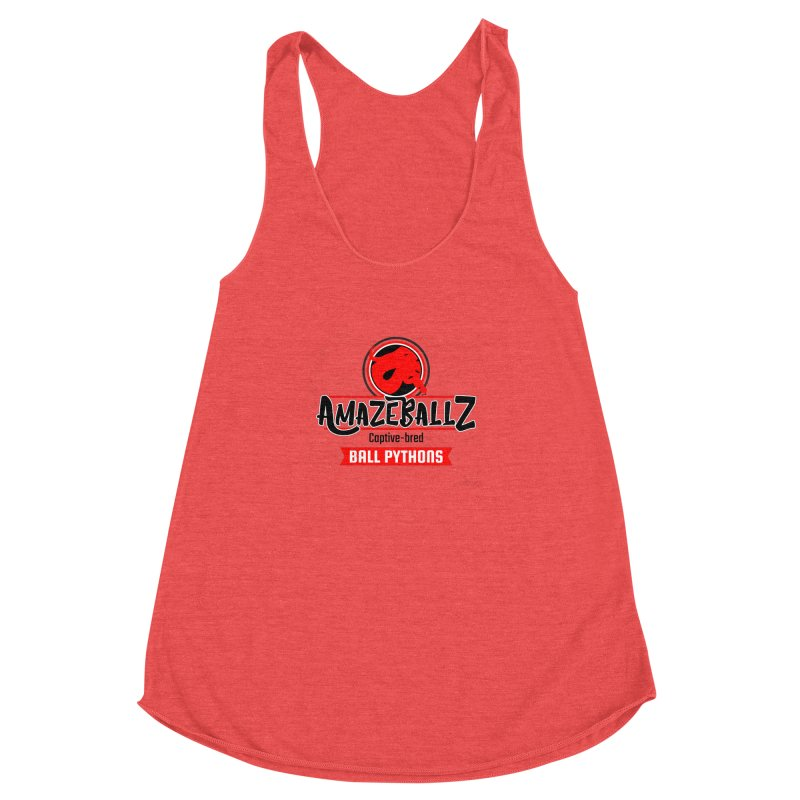 AmazeBallz Women's Racerback Triblend Tank by Drawn to Scales