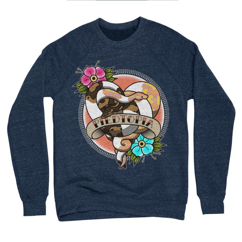 Piedtopia Men's Sponge Fleece Sweatshirt by Drawn to Scales