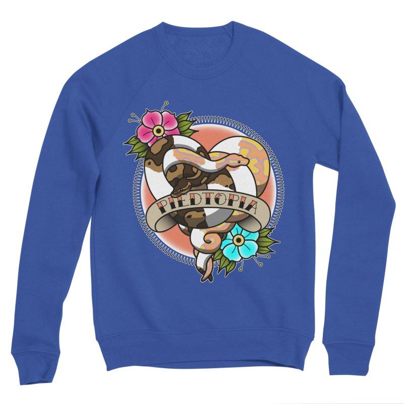 Piedtopia Women's Sponge Fleece Sweatshirt by Drawn to Scales