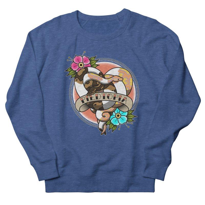 Piedtopia Men's Sweatshirt by Drawn to Scales
