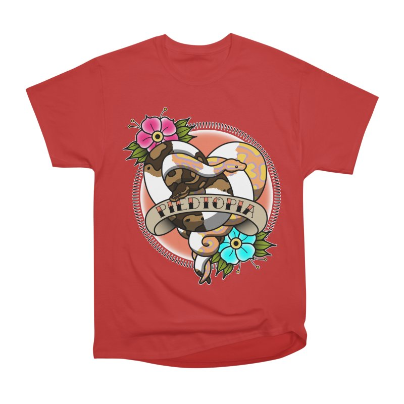 Piedtopia Men's Heavyweight T-Shirt by Drawn to Scales