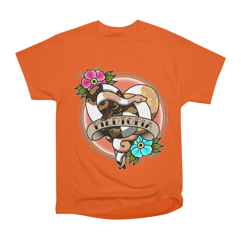 Piedtopia Women's Heavyweight Unisex T-Shirt by Drawn to Scales
