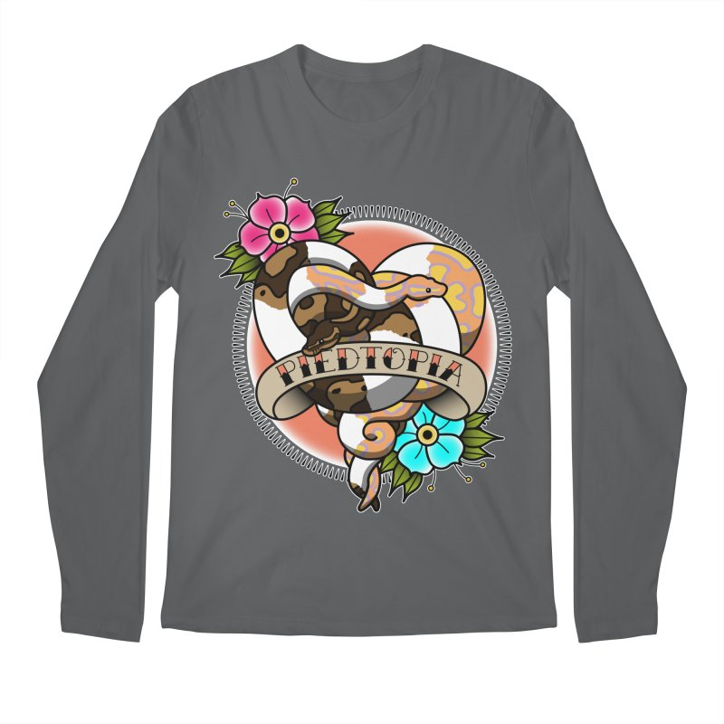 Piedtopia Men's Regular Longsleeve T-Shirt by Drawn to Scales
