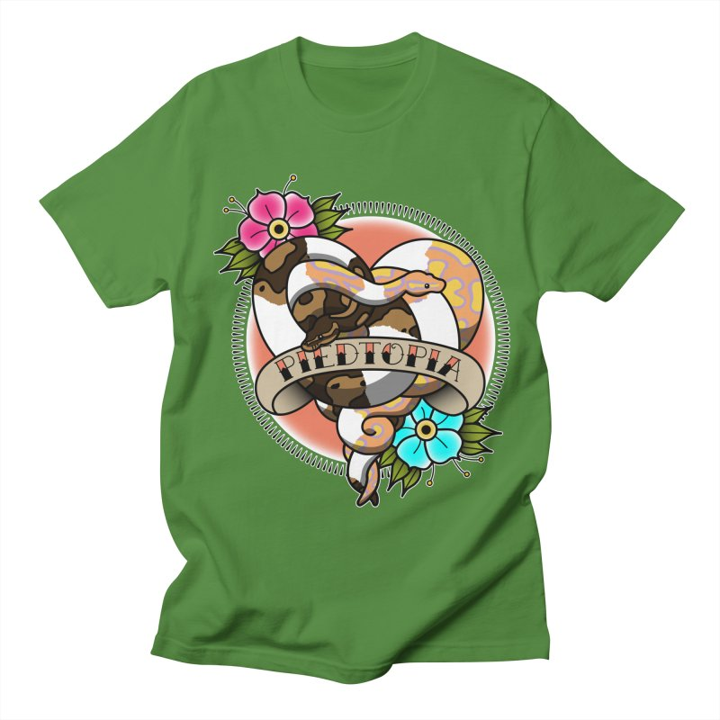 Piedtopia Women's Regular Unisex T-Shirt by Drawn to Scales