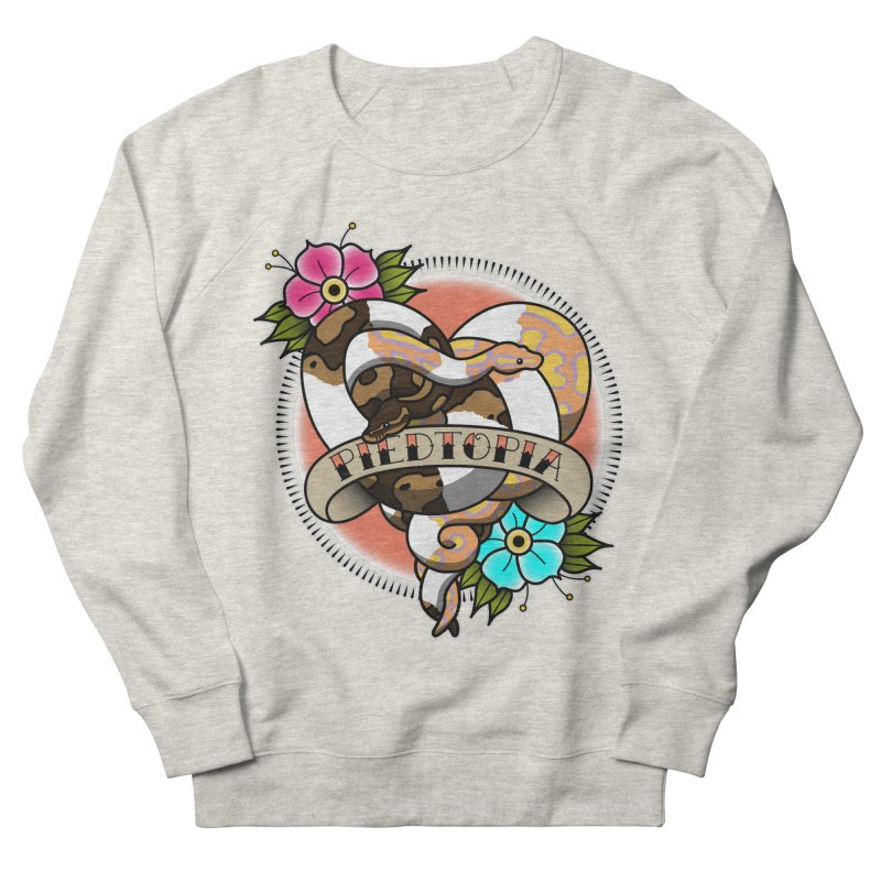 Piedtopia Women's French Terry Sweatshirt by Drawn to Scales