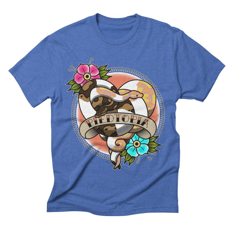 Piedtopia Men's Triblend T-Shirt by Drawn to Scales