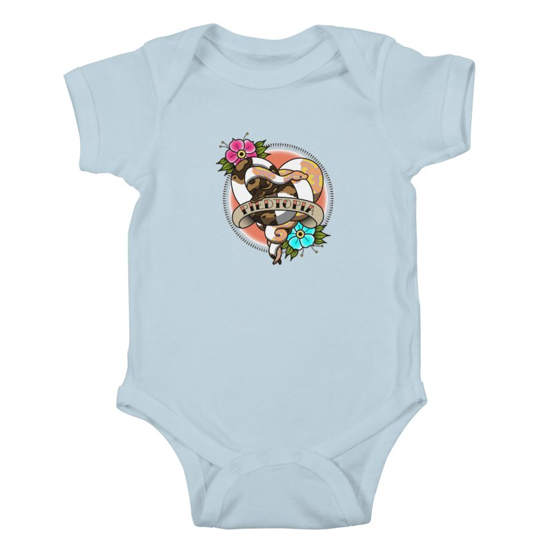 Piedtopia Kids Baby Bodysuit by Drawn to Scales