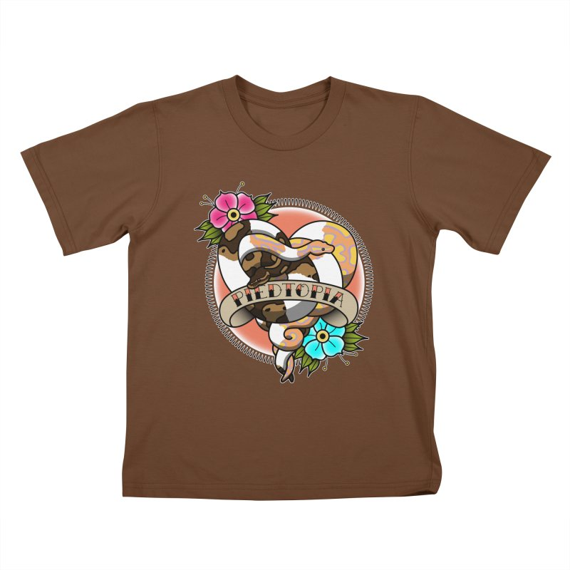 Piedtopia Kids T-Shirt by Drawn to Scales