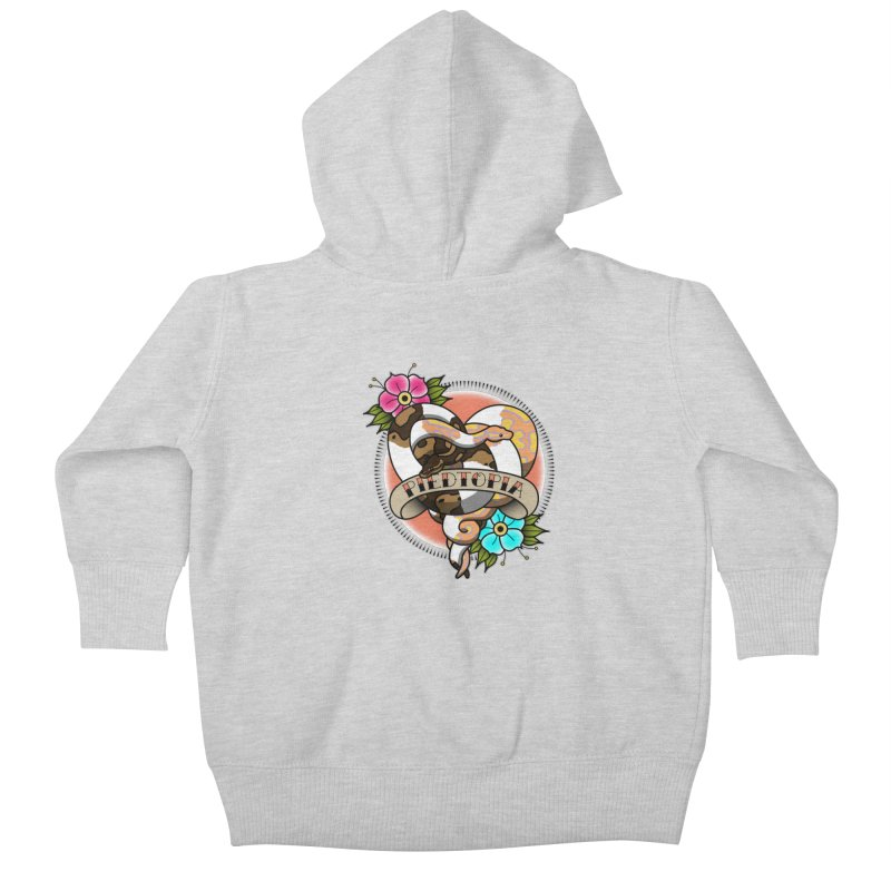 Piedtopia Kids Baby Zip-Up Hoody by Drawn to Scales