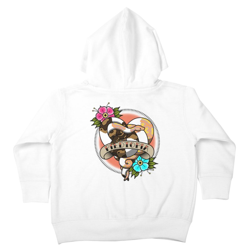 Piedtopia Kids Toddler Zip-Up Hoody by Drawn to Scales
