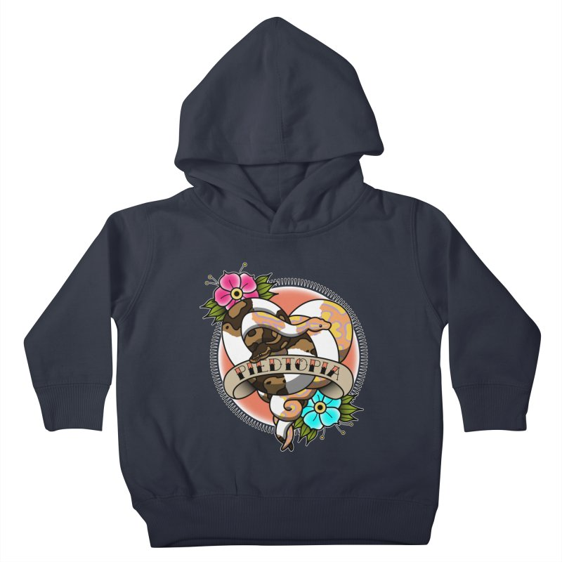 Piedtopia Kids Toddler Pullover Hoody by Drawn to Scales