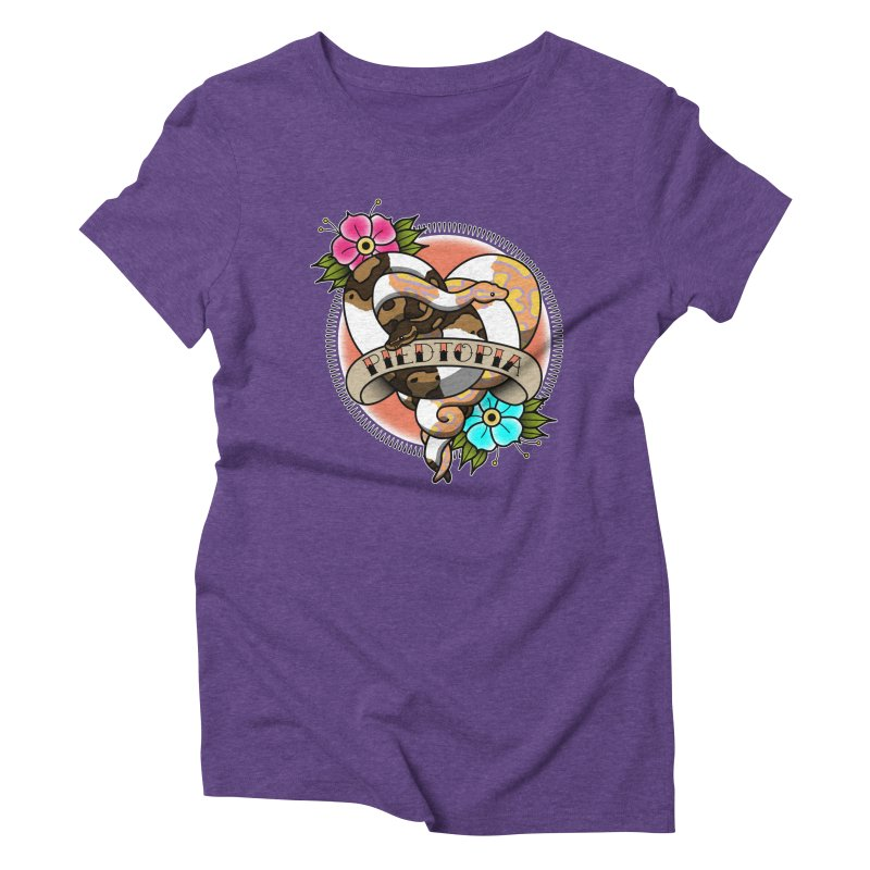 Piedtopia Women's Triblend T-Shirt by Drawn to Scales
