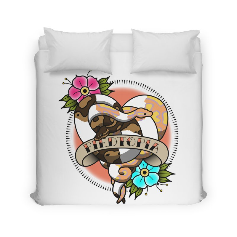 Piedtopia Home Duvet by Drawn to Scales
