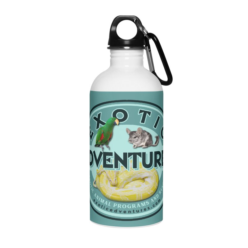 Exotic Adventures Accessories Water Bottle by Drawn to Scales