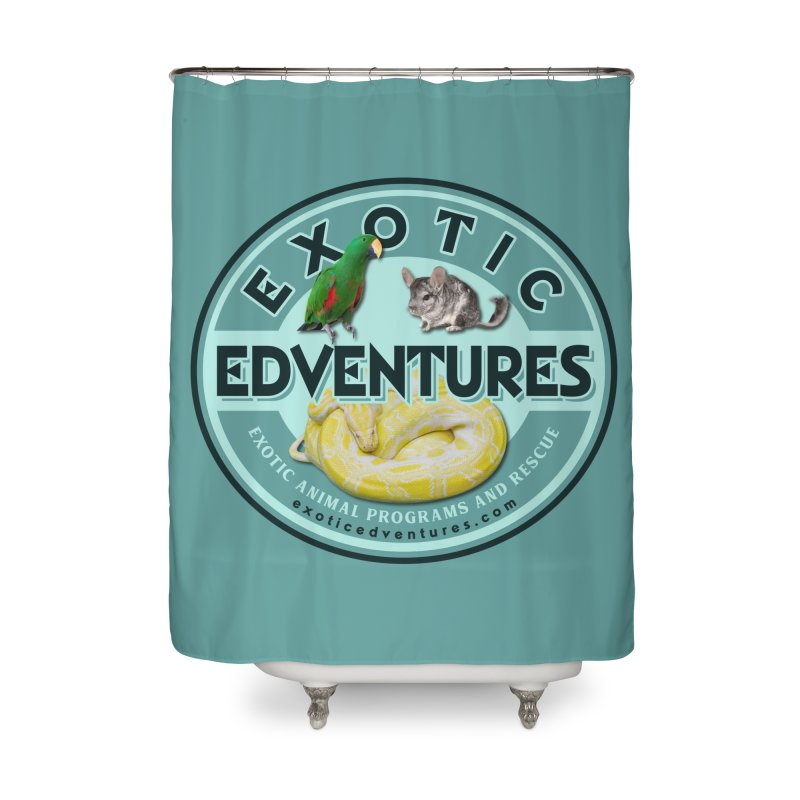 Exotic Adventures Home Shower Curtain by Drawn to Scales