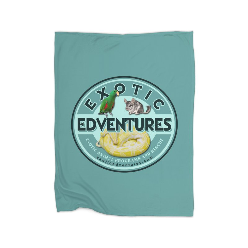 Exotic Adventures Home Fleece Blanket Blanket by Drawn to Scales