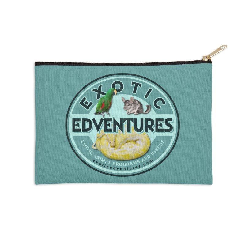 Exotic Adventures Accessories Zip Pouch by Drawn to Scales
