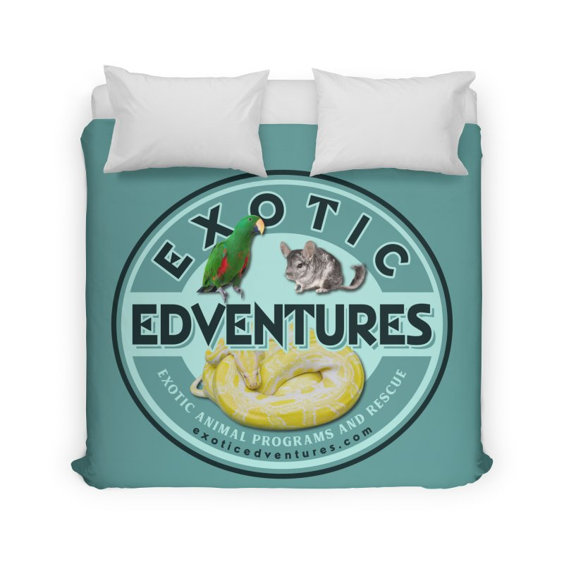 Exotic Adventures Home Duvet by Drawn to Scales