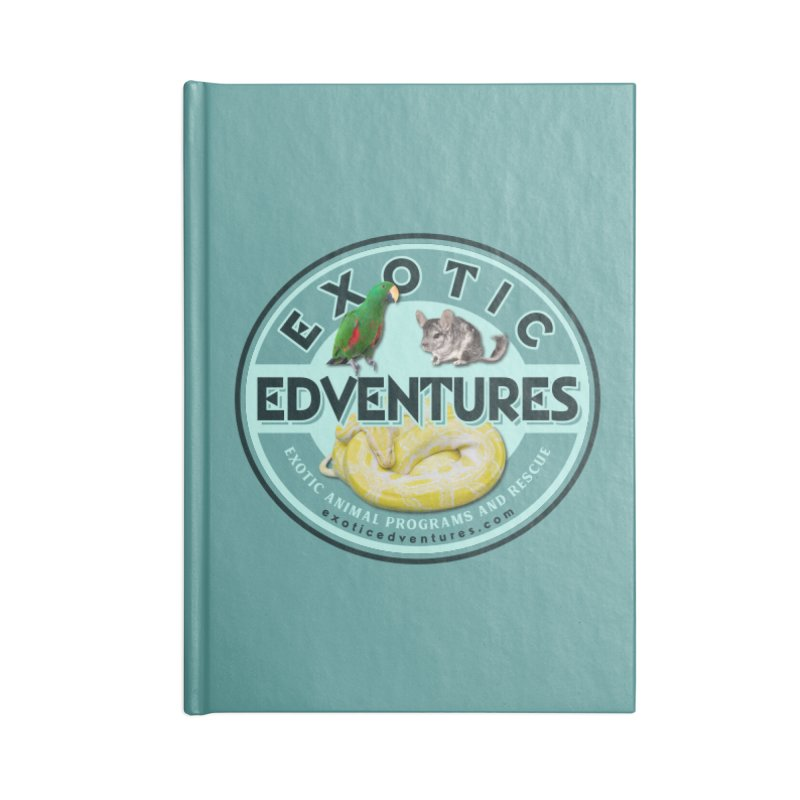 Exotic Adventures Accessories Lined Journal Notebook by Drawn to Scales