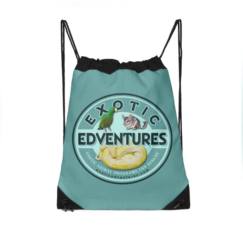 Exotic Adventures Accessories Drawstring Bag Bag by Drawn to Scales